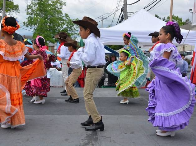 Kennett Square throws a lively Cinco de Mayo celebration every year.