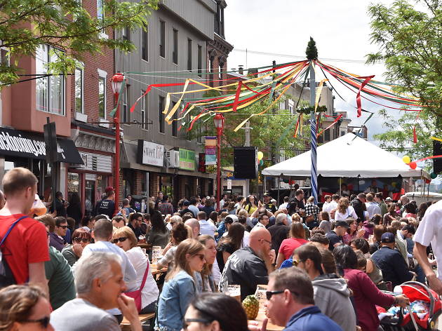 Celebrate Cinco de Mayo in Philadelphia at the South Street Spring Festival.