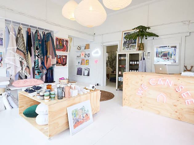 Interior of We Can See store