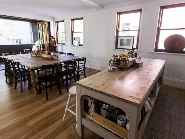 Interior of The Kitchen Hub