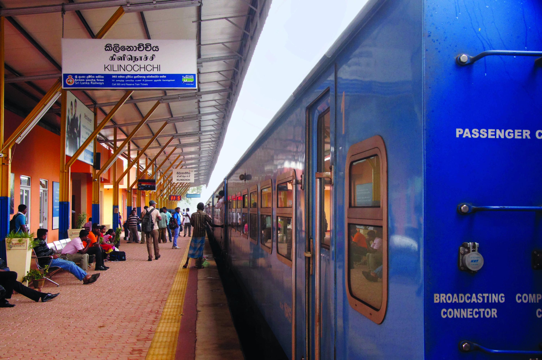 En route to Jaffna on the Yal Devi