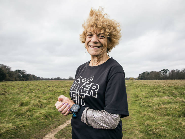 The marathon runner who did an Ironman Triathlon at the age of 74
