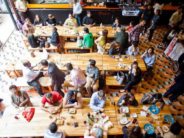 Mercado gastronómico Mercado Roma
