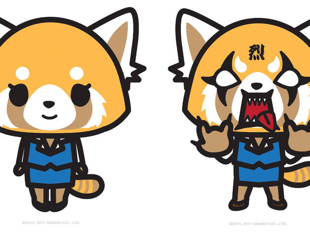 Aggretsuko's Den of Rage Pop-Up Shop