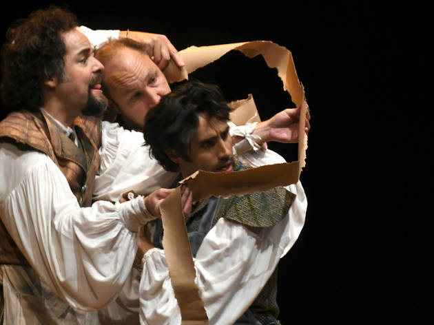 La obra de Bottom (Foto: Cortesía Centro Cultural Helénico)
