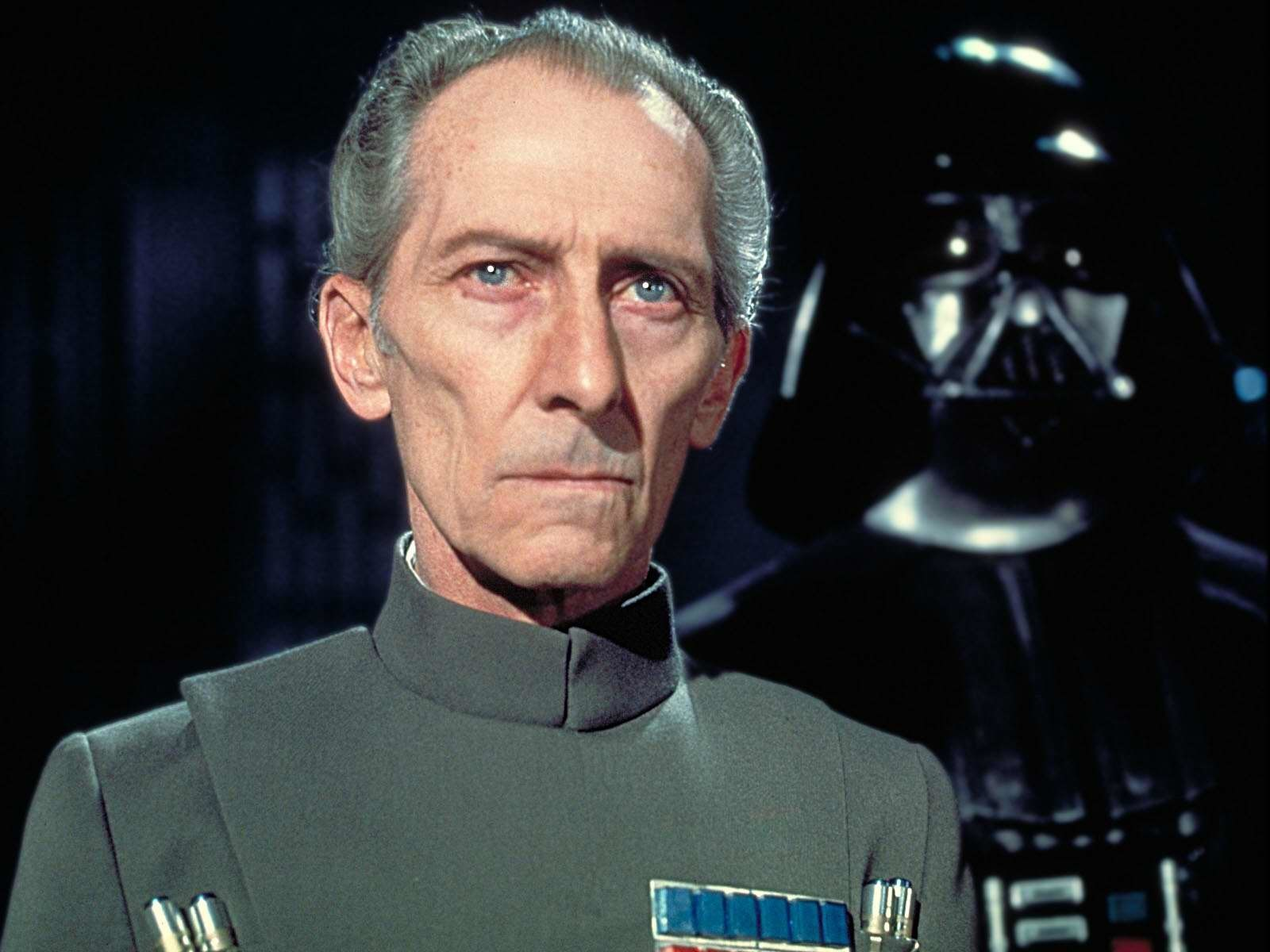 Moff Tarkin in Star Wars