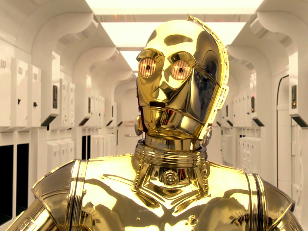 C-3PO in Star Wars