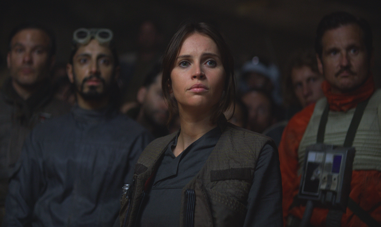 Jyn in Star Wars