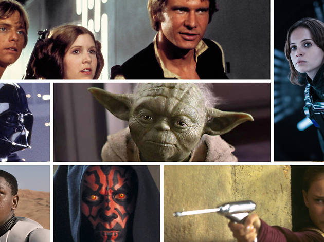 Star Wars 50 characters banner