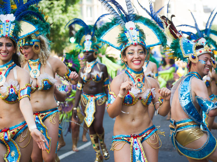 Party all weekend at Notting Hill Carnival