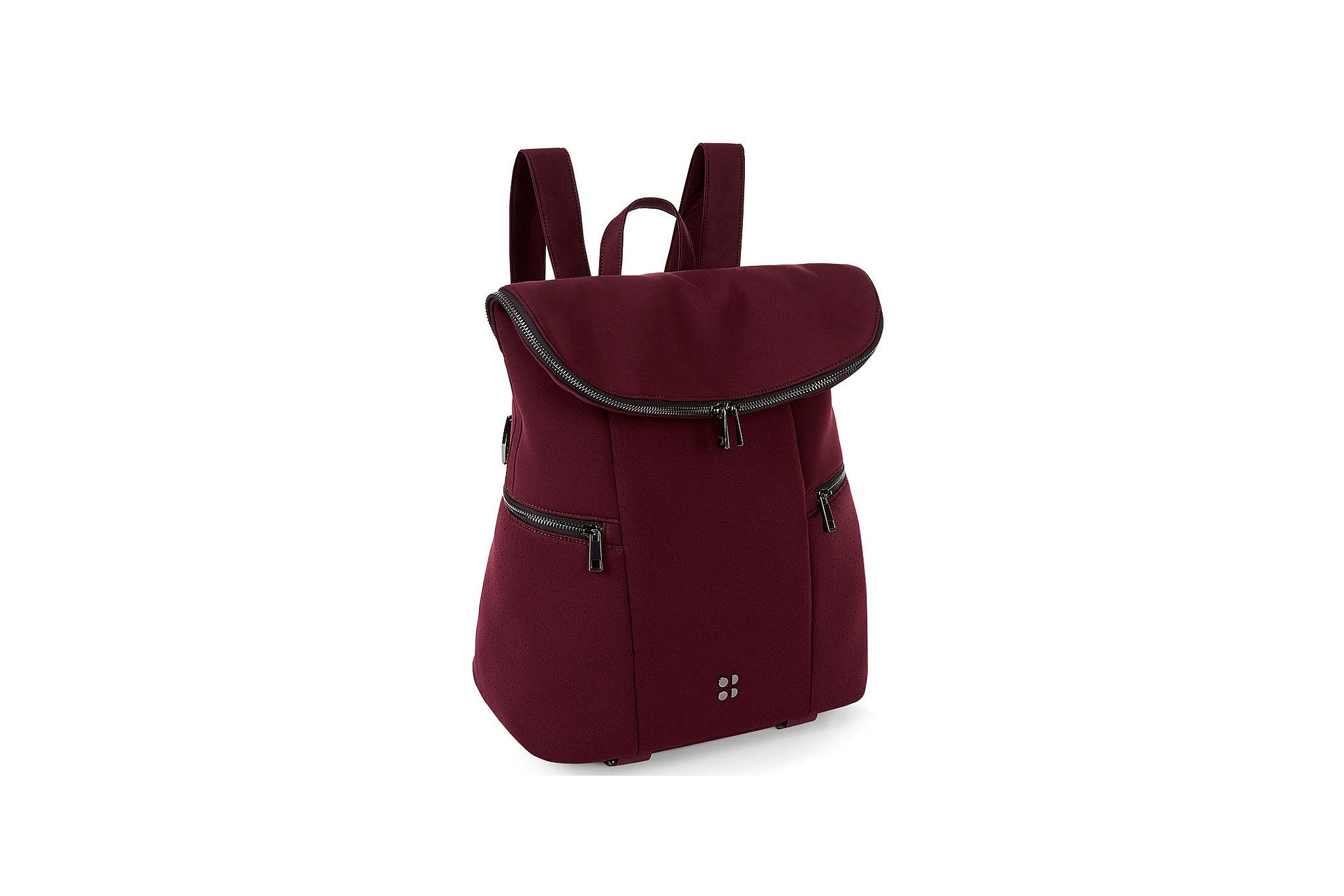 A stylish gym bag