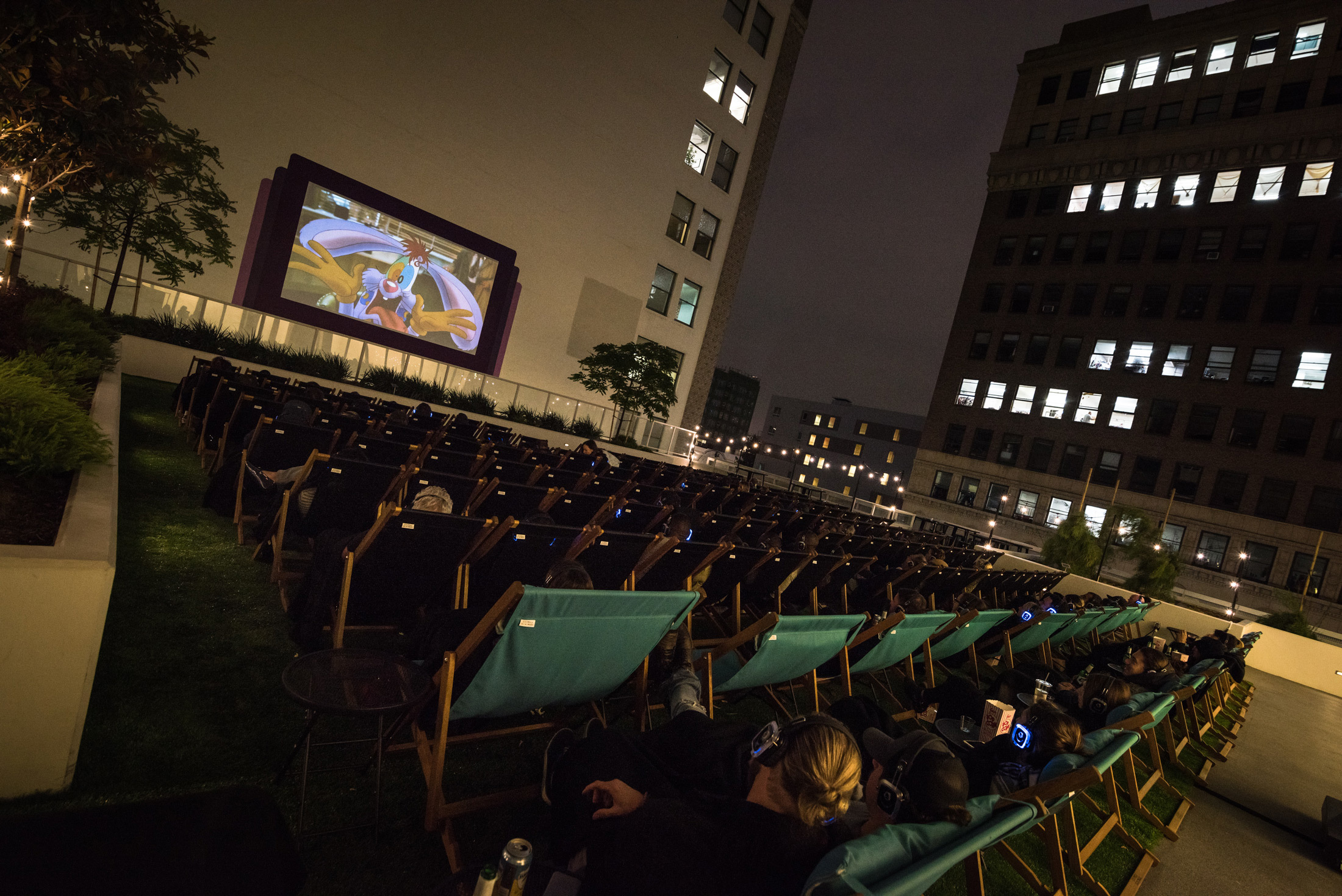 Rooftop Cinema Club at LEVEL