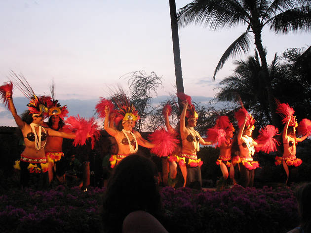 Sunset Luau at Waikoloa Beach