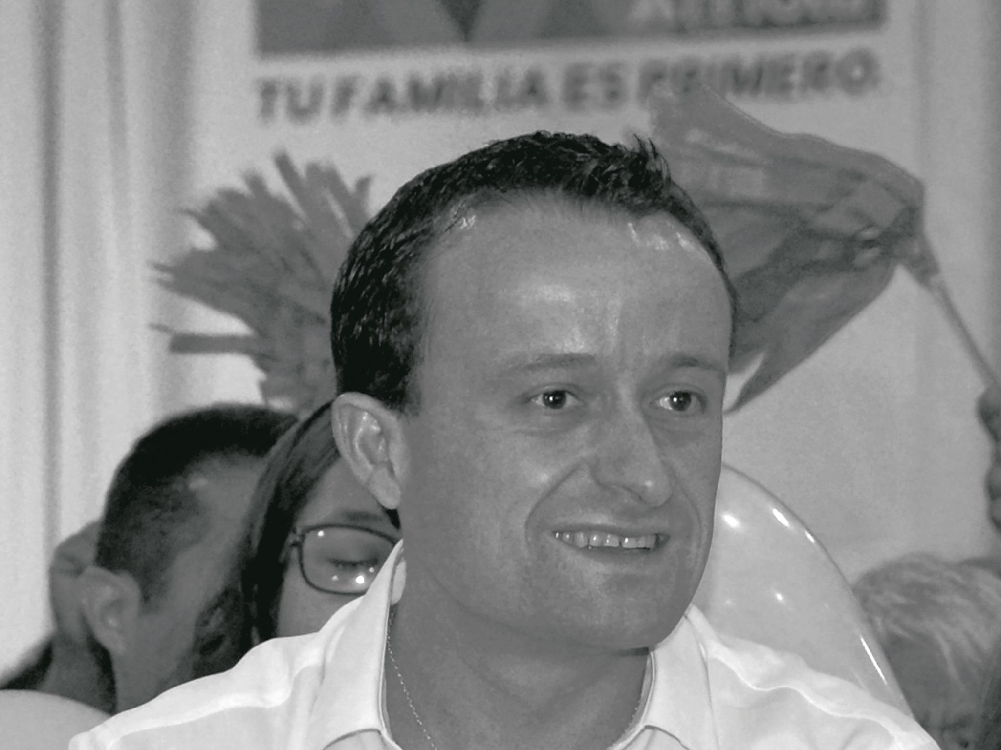 Mikel Arriola, candidato PRI