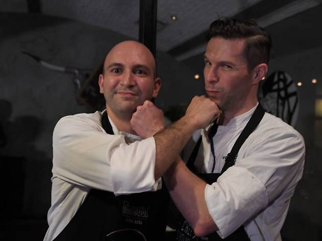 Time Out Chef Showdown - Anthony Burd vs Max Levy