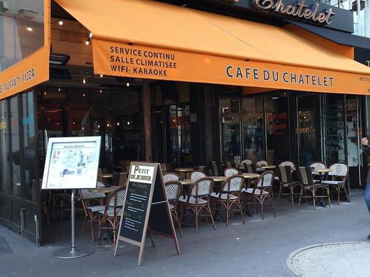LE CAFE DU CHATELET