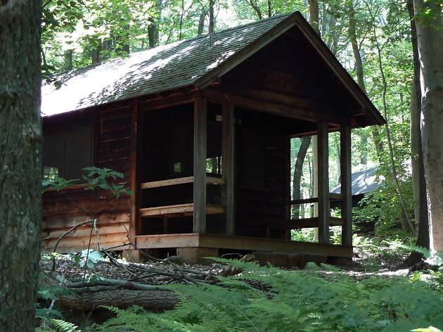 French Creek State Park is a great option for folks who want to go camping near Philadelphia.