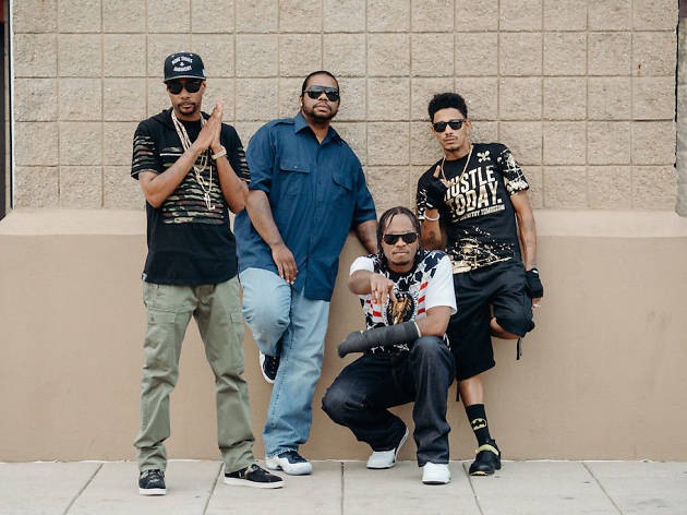 Bone Thugs-N-Harmony play Ardmore Music Hall.