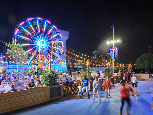 things to do in Philadelphia, Blue Cross RiverRink Summerfest, Philadelphia attractions,