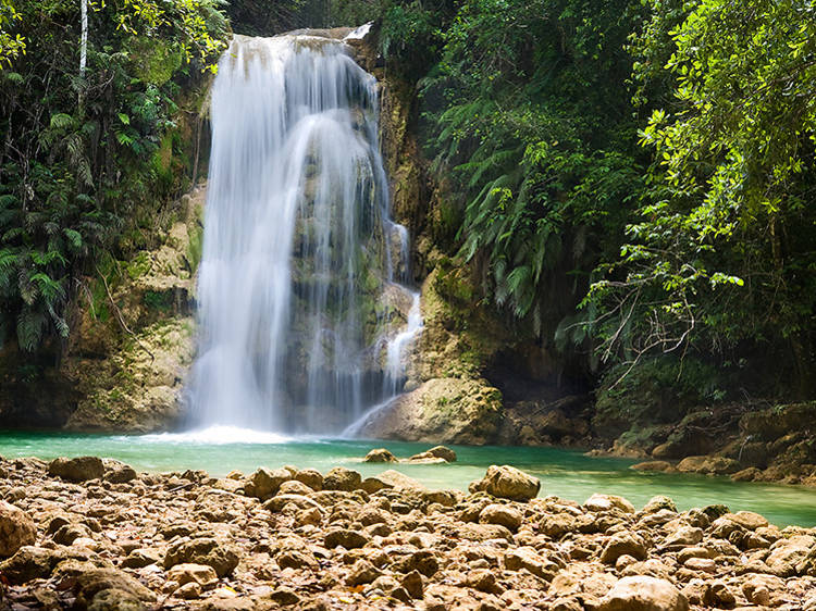 Go canyoning on the Damajagua River