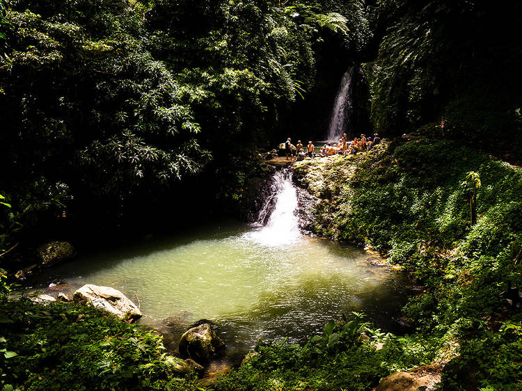 Get wet 'n' wild on a waterfall tour