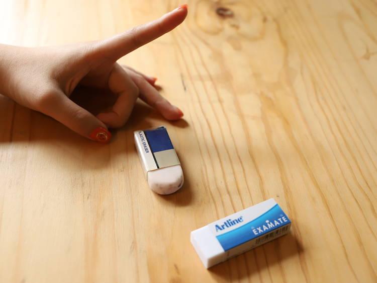 Eraser flicking (彈擦膠)