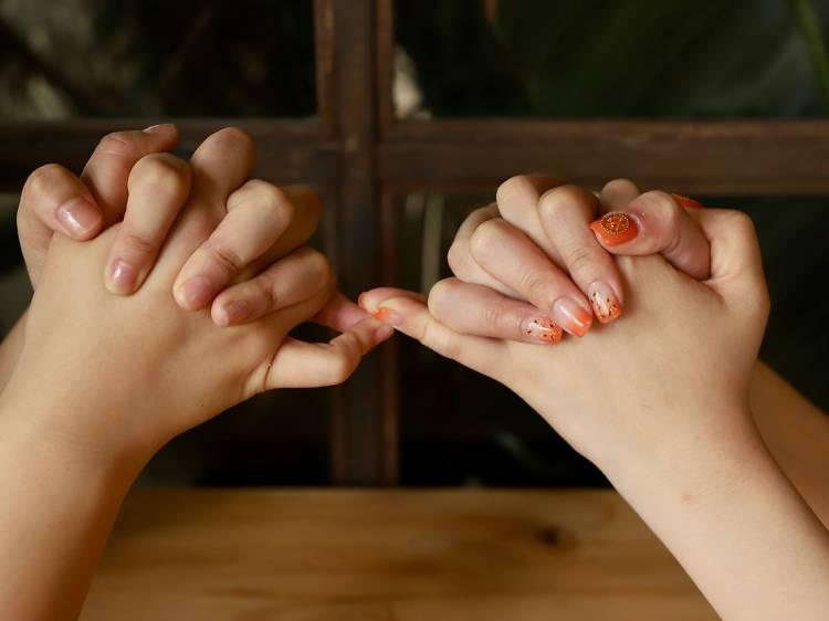 Finger war (劈手指)