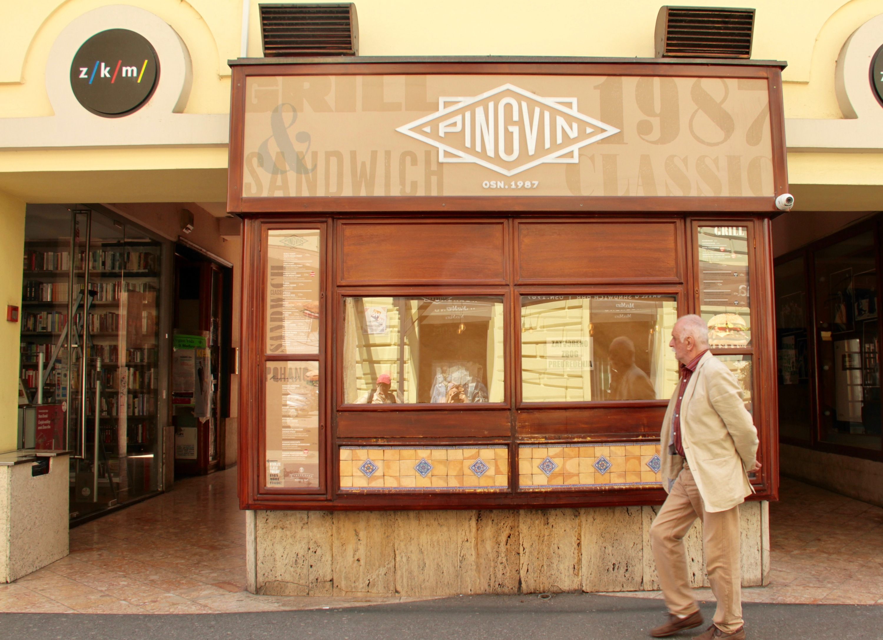 Don't worry: Zagreb's sacred sandwich shop Pingvin is just closed for refurbishment