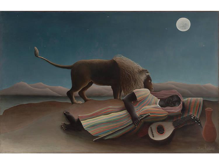 Henri Rousseau, The Sleeping Gypsy, 1897