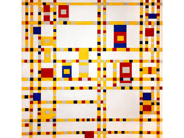 Piet Mondrian, Broadway Boogie Woogie, 1942–43