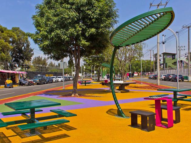 Parque lineal Iztapalapa (Foto: Mattza Tobón)