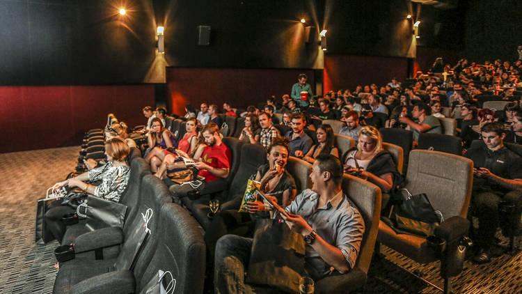 Cinema interior at Dendy Newtown