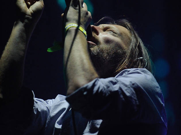 Radiohead plays the Wells Fargo Center.