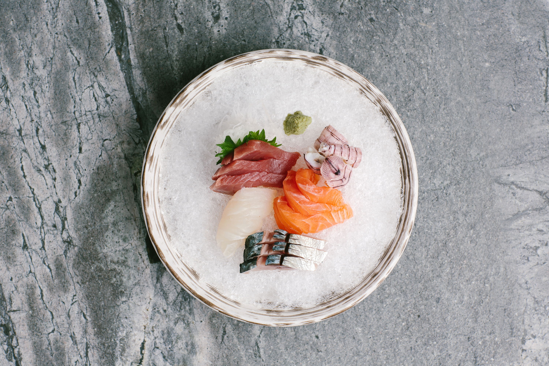Fukuro sashimi platter