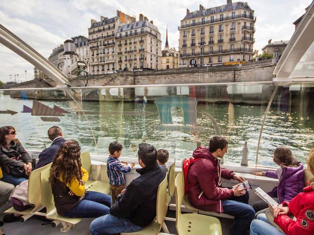 Paris river cruises, Get Your Guide tours, 2018