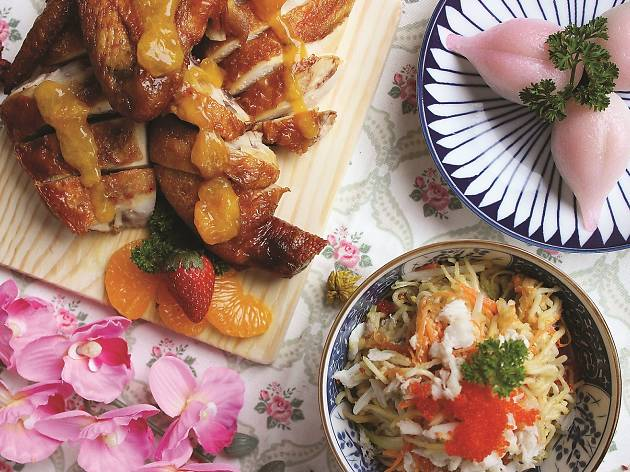 Zuan Yuan Mother's Day menu