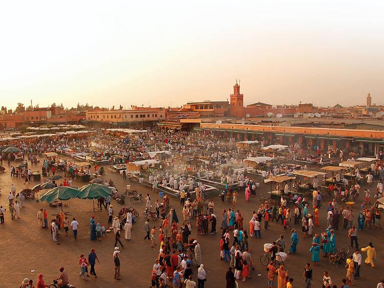 Marraquexe: conhecer os cantos à Medina