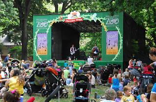 Rock n Roar brings kiddie music festival vibes to the Philadelphia Zoo.