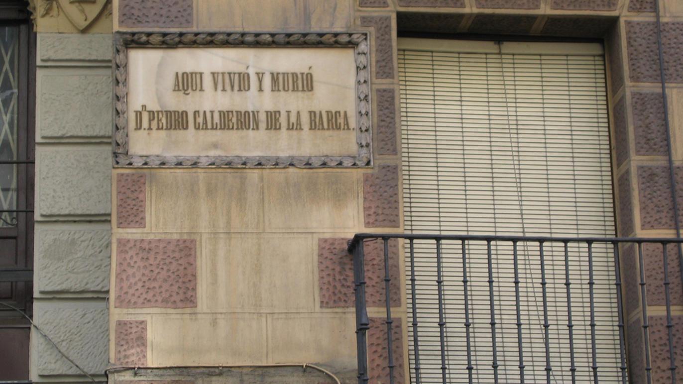 La casa más estrecha, hogar de Calderón de la Barca