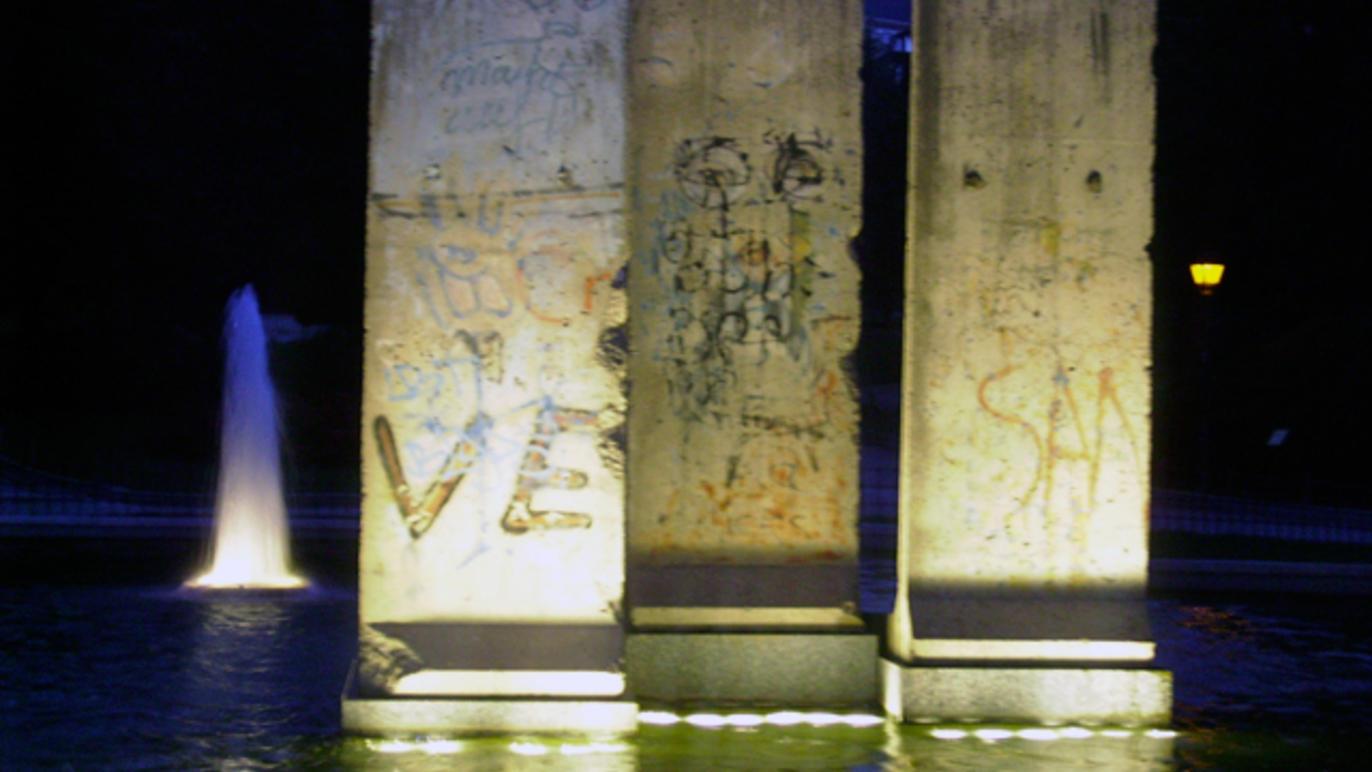 El muro de la vergüenza… en Madrid