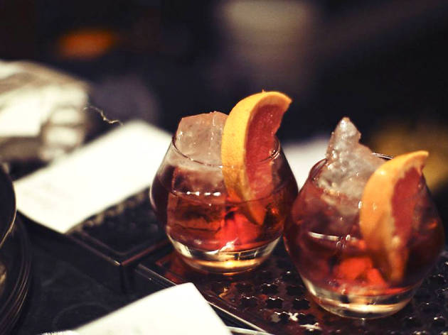 Negronis at Dandelyan