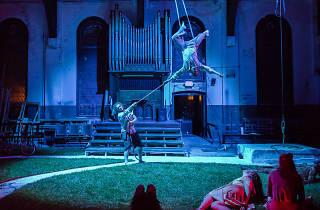 Brian Sanders' JUNK presents Dancing Dead IPX at Shiloh Baptist Church.