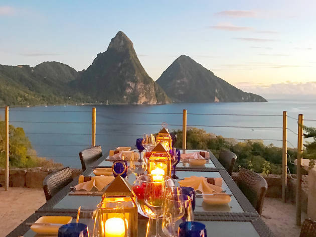 Jade Mountain Club in St Lucia