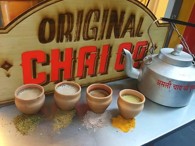 Original Chai Co chai van pop-up