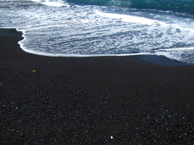 Waiʻanapanapa State Park Black Sand Beach