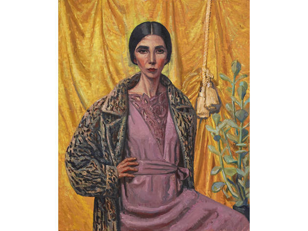 Archibald winner: Yvette Coppersmith, 'Self-portrait, after George Lambert'