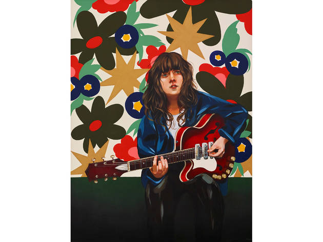 (Archibald finalist: Melissa Grisancich, 'Courtney Barnett and her weapon of choice')