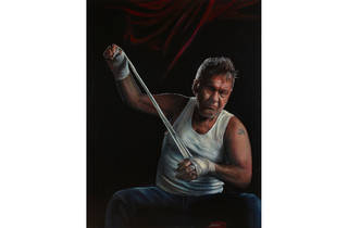 (Archibald finalist: Jamie Preisz, 'Jimmy (title fight)')