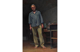 (Archibald finalist: Robert Hannaford, 'Robert Hannaford self-portrait')