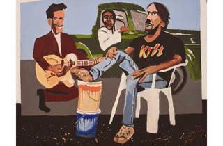 (Archibald finalist: Vincent Namatjira, 'Studio self-portrait')